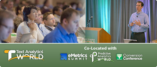 Text Analytics World San Francisco 2014