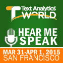 Text Analytics World 2015
